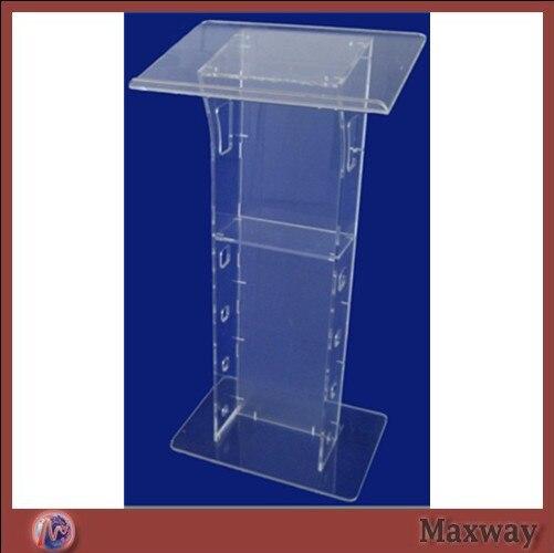 Elegant acrylic podium