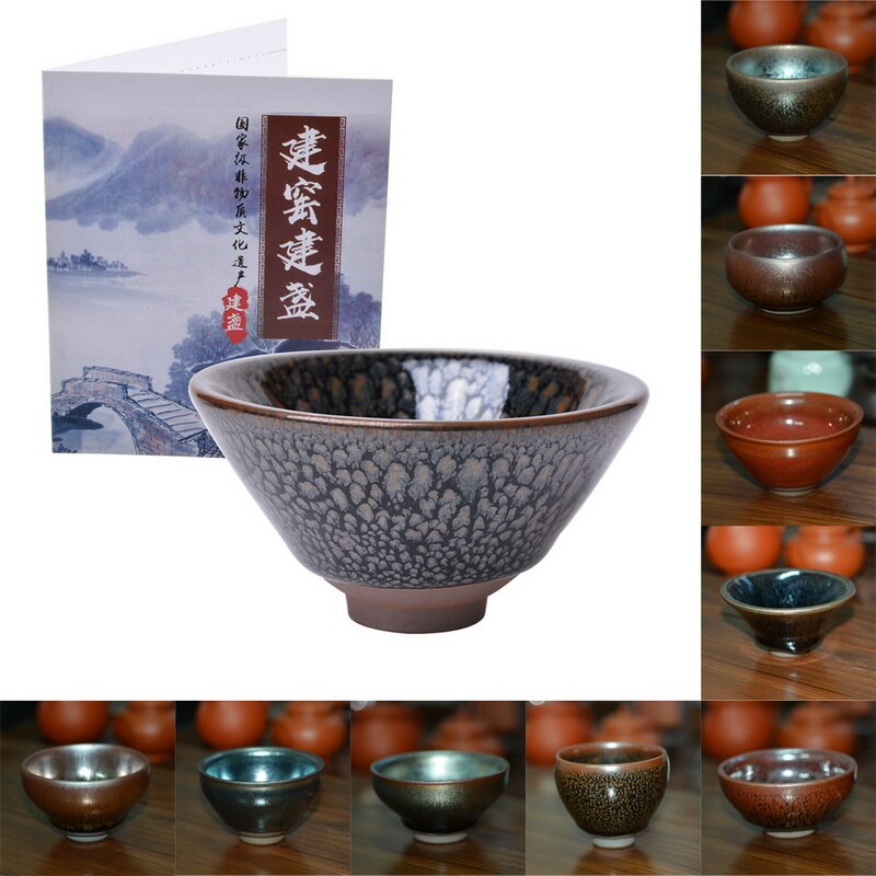 Bowl Tea-Cup Matcha Traditional Japanese Floral-Design Mini Handcrafted Glaze Tableware