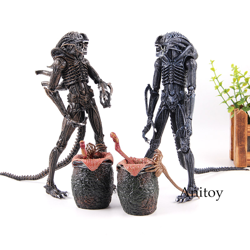 Aliens 2 Eggs Chestburster Alien Facehugger Toy Action Figure Collection Model Toys In Figures From Hobbies On Aliexpress