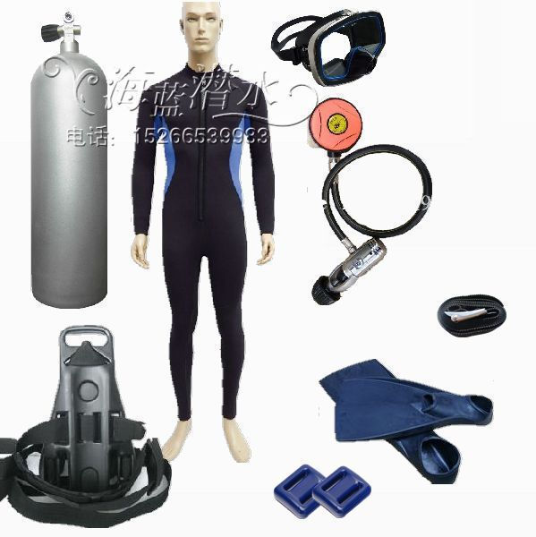 Diving equipment full range of professional diving kit, combination / Scuba Diving Equipment / store 12L cylinder