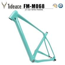2019 новый полный mtb карбоновая рама 27,5 er карбоновая рама для горного велосипеда 27,5 плюс полностью углеродное волокно OEM boost горные рамы