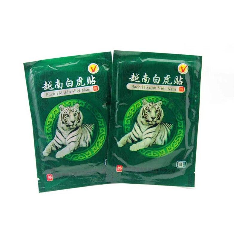 48pcs=6set Vietnam White Tiger Creams Plaster Meridians Pain Relief Patch Rheumatoid Arthritis Balm Muscle Neck Body