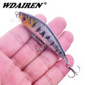1Pcs Minnows Fishing Lure 70mm 8g Japan 3D Eye Artificial Hard bait Crankbait Floating swimming Wobblers Pesca fishing tackle