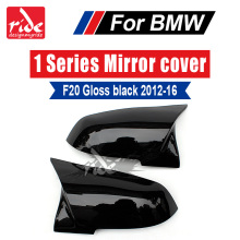 M-Style High-quality ABS Gloss Black Rear View Mirror Covers Decoration For BMW 1-Series F20 118i 120i 125i 128i 135i 2012-2016