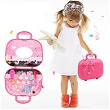 Children Cosmetics Set Toys Girls Little  Princess Kids Pretend Play Toy Makeup Lipstick Palette