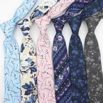 Moda krawaty dla mężczyzn bawełna wąska krawat Skinny krawat krawaty na co dzień na co dzień drukowane krawaty krawat kwiat róża krawat tanie i dobre opinie Tandsen WOMEN Poliester COTTON Dla dorosłych Tend Tie Floral Szyi krawat Jeden rozmiar green black navy blue grey