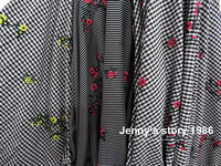 2017 Big Famous Brand Fabric Cotton Embroidered Stripe Ripstop Print Fabric For Shirt Dress And Plaid