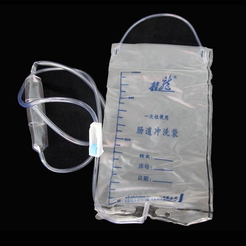 Disposable enema bags