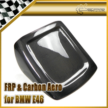 Compare Prices EPR Car Styling For BMW E46 3-Series M3 Carbon Fiber Seat Cover Glossy Fibre Finish Interior Accessories Racing Trim