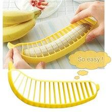 Super quick banana slicer