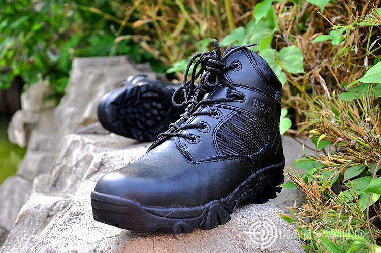 ФОТО Desert war boots, 2017 production wholesale delta commandos boots side zippers in the spring and autumn, mountaineering shoes