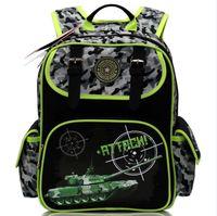 Children's Backpack Girls Owl Cat School Bags Nylon Orthopedic Backpack for Boys Military Theme Tank Book Bags Mochila Escolar