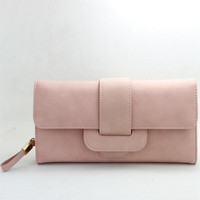 2017 New Lady Women Long Purses Clutch Wallet Small Bag Card Holder High Quality Girl brand Wallet Best gift drop shipping