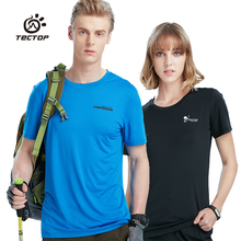 Tectop Spring and summer Outdoor Quick Dry short sleeve T-shirt For Men