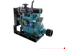 weifang diesel engine R4105P 48kw Diesel Engine for Water Pump & fixed power Usage with clutch connecting все цены