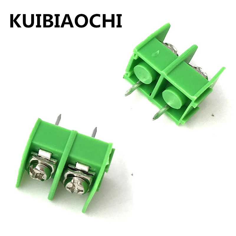 10pcs/lot 8.5mm pitch connector 2 pin KF8500-2P 10A 300V pcb screw terminal block connector