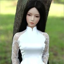 1/3 масштаб Обнаженная BJD Feman SD большая девочка Кукла Смола Модель игрушка подарок, не включает в себя одежду, обувь, парик и другие аксессуары D2293