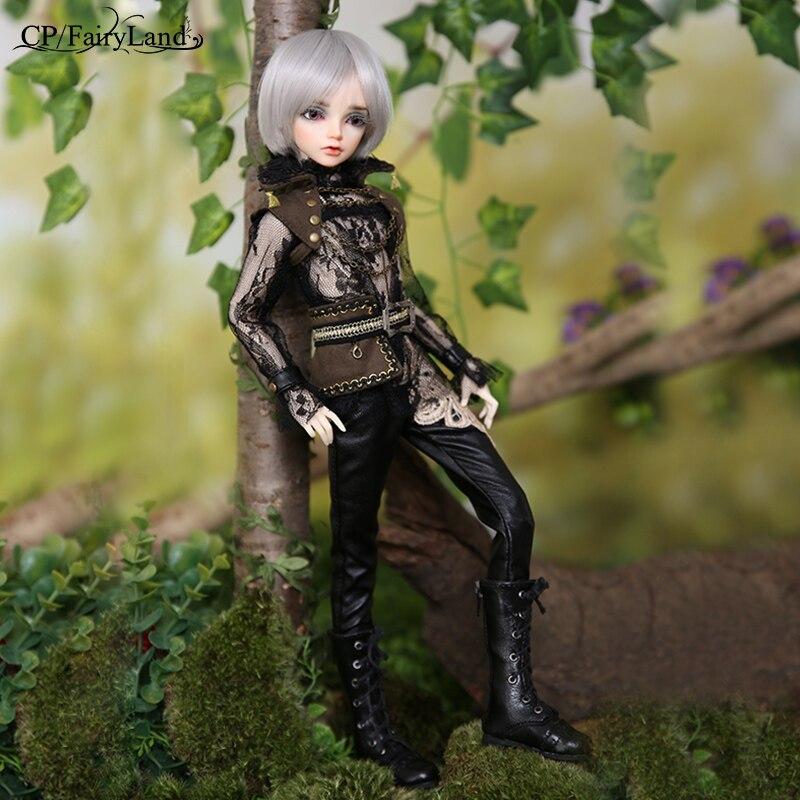 New Arrival Minifee Altis BJD lalki 1/4 Fairyline dźwigi samojezdne Faun Antler róg opcje Fantasy mężczyzna wróżki unikalna figura zabawki dla dziewczyny FL w Lalki od Zabawki i hobby na  Grupa 3