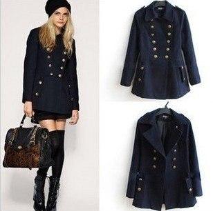 Military Ladies Coat | Down Coat