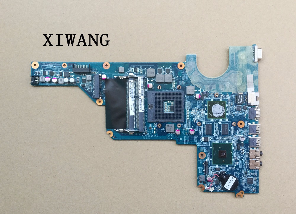 Free Shipping motherboard 636372-001 For HP Pavilion G6-1000 G4 G7 laptop motherboard HM55 6470/1G DA0R12MB6E0 DA0R12MB6E1 цена
