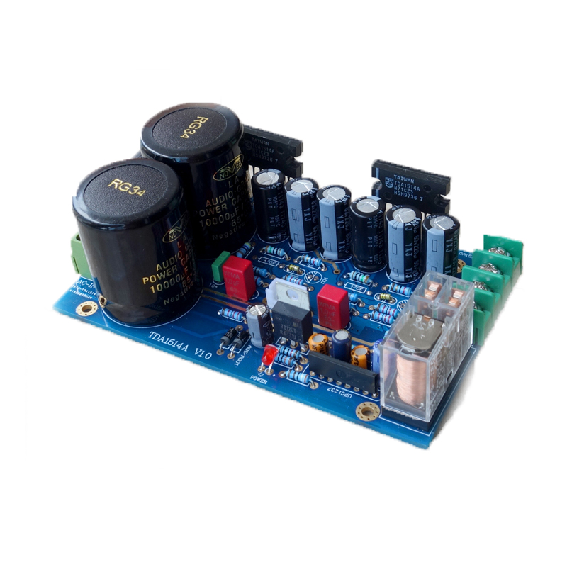 TDA1514A chip power amplifier board finished board super LM3886 LM1875 цена