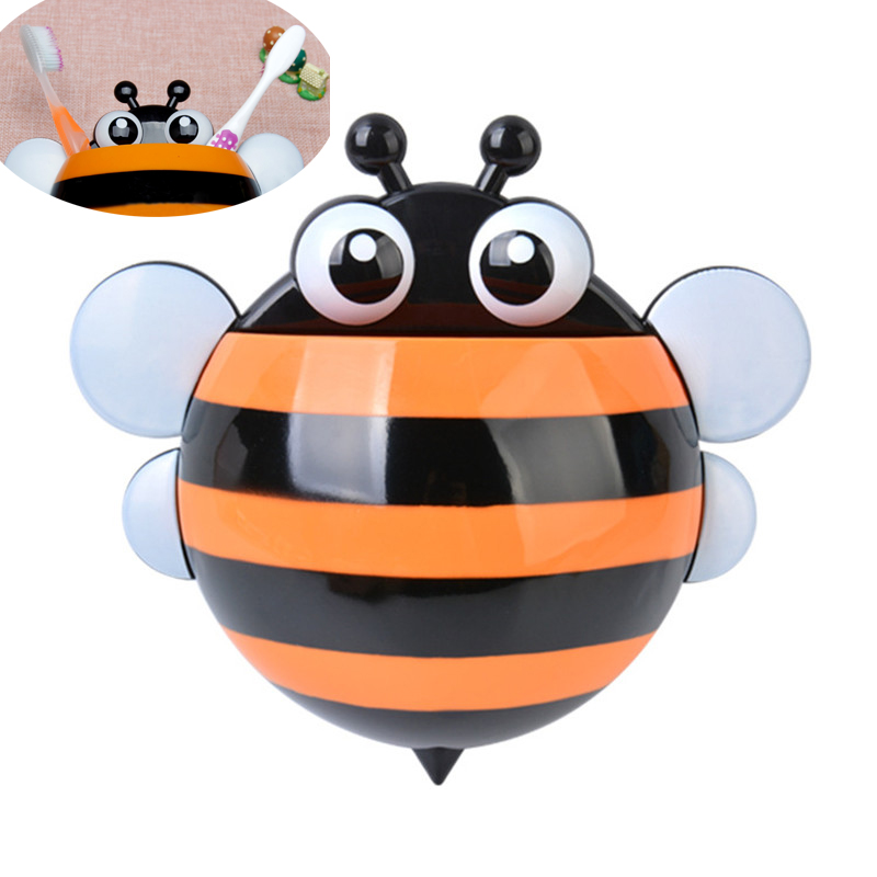 Creative Cartoon Bee Toiletries Toothpaste Holder Bathroom Sets Suction Hooks Tooth Brush Accessories In From Home