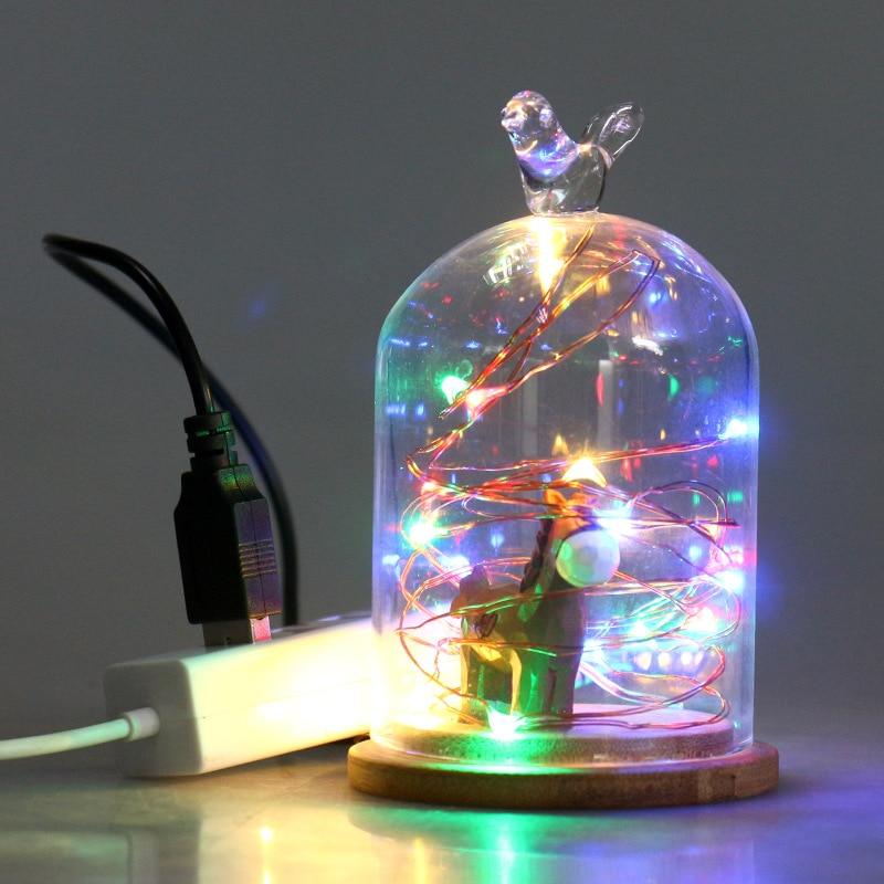 32.8Ft 100 LED String Lights for Wedding Celebration/Festival/Background Arrangement/City Lightening