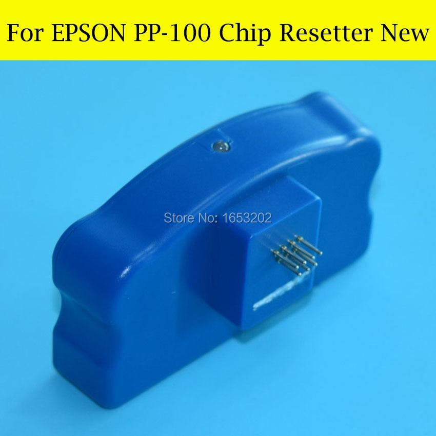 Fast Shipping !! Chip Resetter For Epson PP100 PP-100 PP100n PP100ap PP-100ap Printer vilaxh for epson p600 chip resetter for epson surecolor sc p600 printer t7601 t7609 cartridge resetter