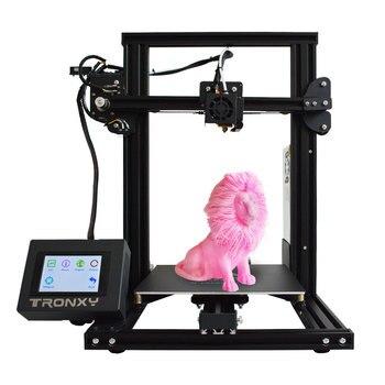 Tronxy, новинка, XY-2, 3D принтер, большой размер печати, FDM, i3, принтер, v-слот, сенсорный экран, продолжительная печать, Горячая кровать, 1,75 мм, PLA
