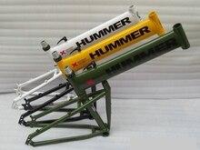 Retail 17 inchs (173-180cm) Humvees mountain bike frame aluminum alloy 6061 folded frame Disc brake black / green / white