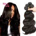 Halo Lady Hair Products Brazilian Virgin Hair Body Wave Human Hair Extensions Best Quality 7A Brazilian Body Wave 4 Bundles Lot