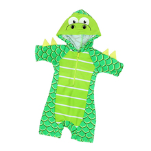 New Children Swimwear Swimsuit for Boys Dinosaur One Piece Toddler Kids Boy Baby Childrens Bathing Suit 2-8T
