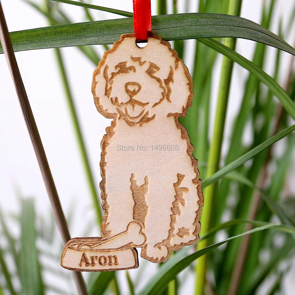 goldendoodle ornament personalized dog ornament dog lover gift christmas holiday ornament in pendant drop ornaments from home garden on