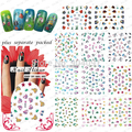 NEW ARRIVAL !20Sheet/lot.Betty & tropical fish, 2DNAIL STICKER  Fashion Nail Film.Nail Art Sticker  +Separate Packed