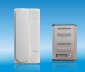 Entsperren Funktion Herausragende Eigenschaften Herzhaft Zhudele Neue Ankunft Home Security Produkt Intercom System 2-draht Neue Audio-türsprechanlage Audio Intercom