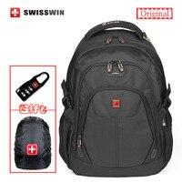 Swisswin Men S Backpack 28L 13 3 14 15 Waterproof Laptop Backpack Bag With Tablet Pocket