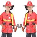 Halloween Firefighter Fireman Costume