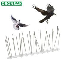 Хит продаж 9 м пластиковые птицы и шипы для отпугивания голубей Анти Птица анти голубь шип для избавления от голубей и отпугивания птиц борьба с вредителями