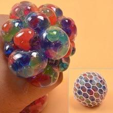 De uva bola juguetes Anti estrés Squishy Squish juguetes Squeeze alivio Anti-estrés niños cosas bromas pesadas para adultos regalos