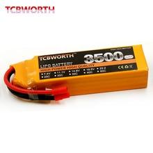 4S 14 8v 3500mAh 40C RC lithium font b battery b font For RC Airplane Quadrotor