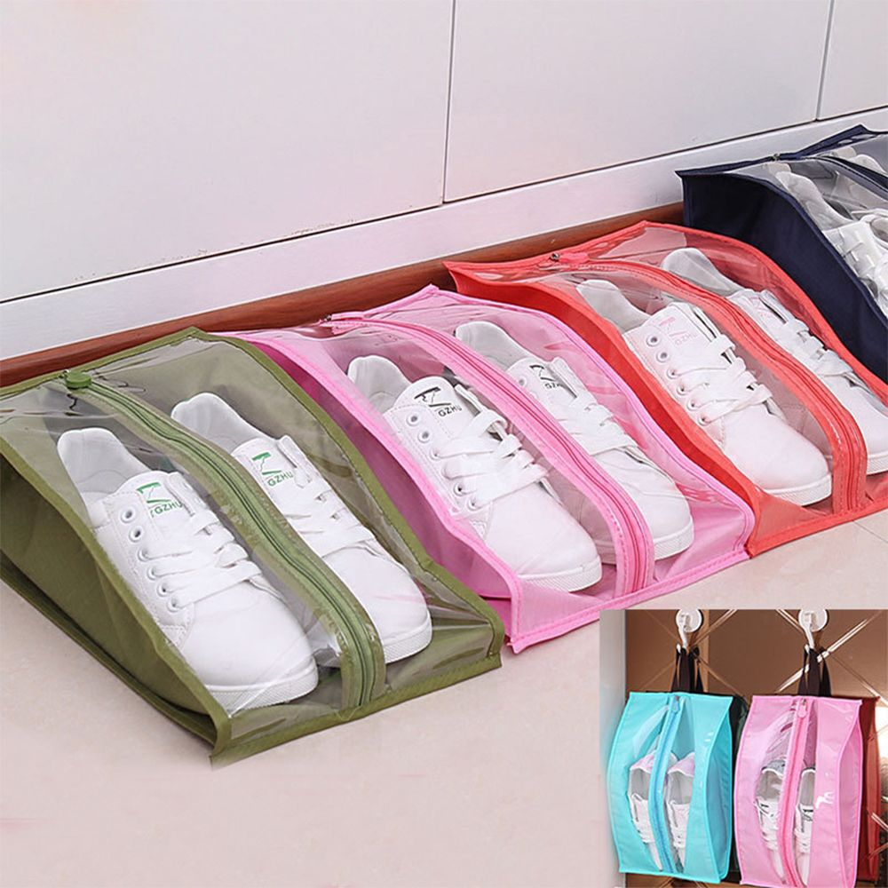 In Design; New Fashion 1 Pc Shoes Bag Waterproof Portable Outdoor Travel Shoes Bags Wash Tote Toiletries Laundry Shoe Storage Bag Novel