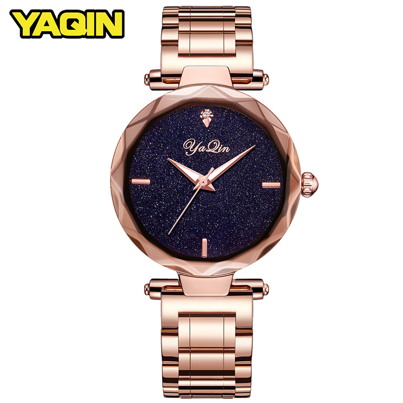 YAQIN women quartz watch lady top brand luxury woman watch business watch girl clock Relogio Feminino Montre Femme Reloj Mujer