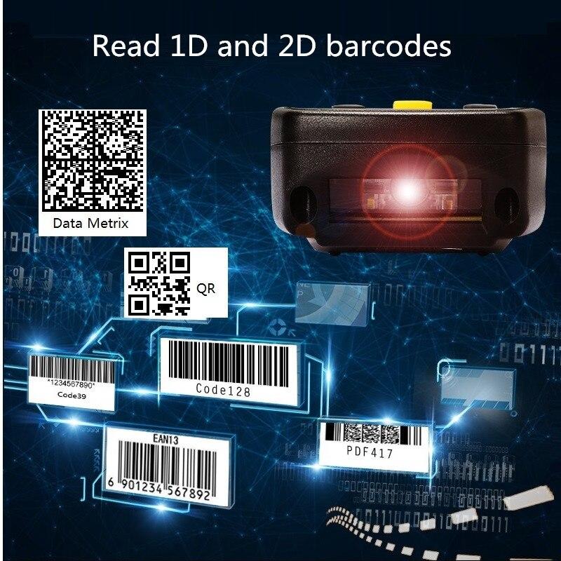 Techlogic X9 2D-QR-PDF417 Datametrix 2D-Barcode-Scanner - Büroelektronik - Foto 4