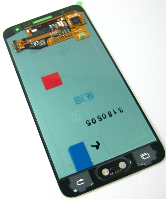 Замена Полный ЖК-Дисплей + Сенсорный Экран Digitizer для Samsung Galaxy A3 SM-A300 A300 Белый
