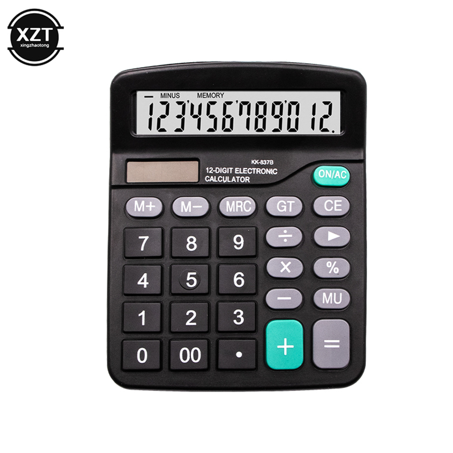 US $3 63 22% OFF|12 Digit Scientific Calculator Solar AA Battery Dual  Energy General Purpose Calculators Programmer Stationery Financial  Office-in