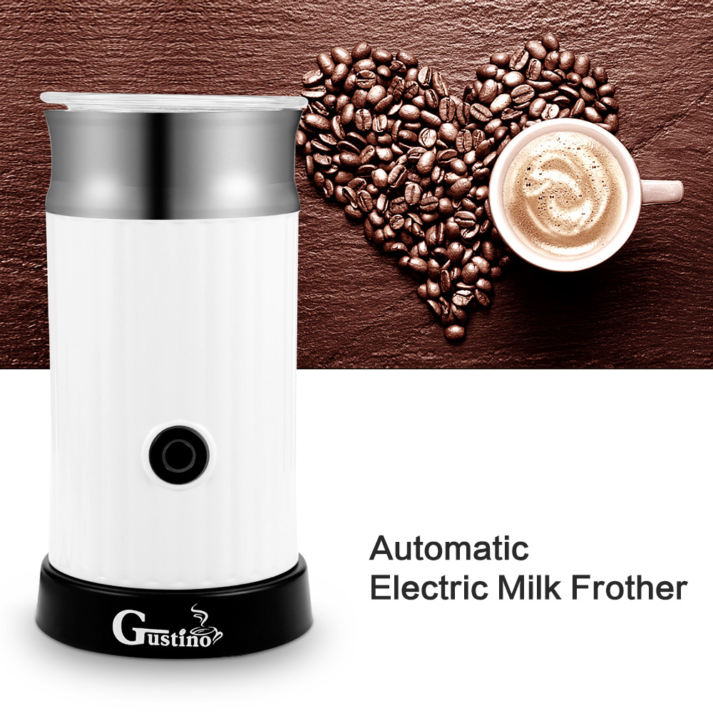 Electric Coffee Maker Automatic Milk Frother Cappuccino Coffee Maker for Hot Frothing Heating Milk Cold Frothing 220-240VElectric Coffee Maker Automatic Milk Frother Cappuccino Coffee Maker for Hot Frothing Heating Milk Cold Frothing 220-240V
