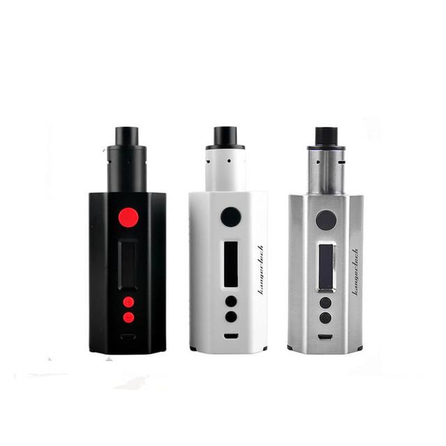100% kangertech originais 2016 mais novo dripbox 160 w kit com 7 ml fácil de usar deck kanger rba dripbox 160 e cigarro dripmod-5