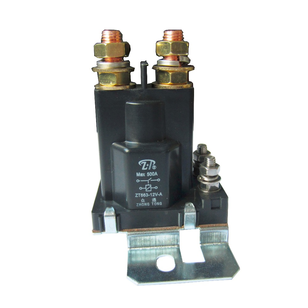 High Current Start Relay Dual Battery Isolator Max 500 Amp