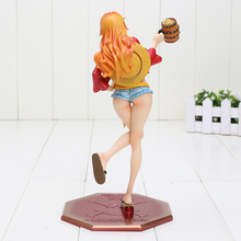Nami Dressed in Luffy Outfit Figure