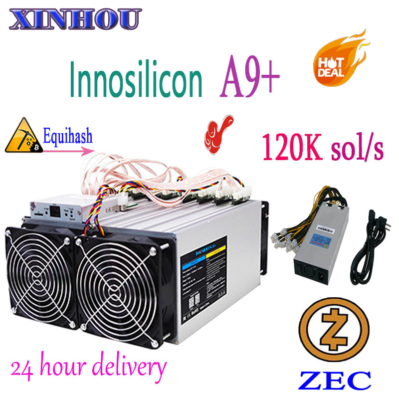 Utilisé Innosilicon A9 + ZMaster 120 k sol/s avec PSU Equihash Asic Miner Zcash ZEC BTG extraction mieux que Antminer Z9 mini S9 B7 T3